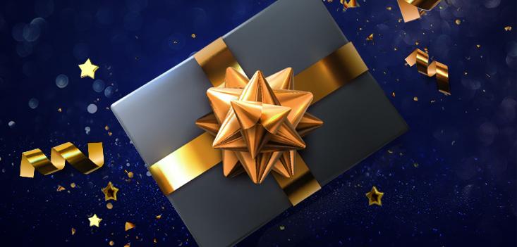 Dar presentes é bom, mas receber é ainda melhor!